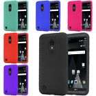 For LG Aristo LV3 V3 MS210 Rugged Thick Silicone Grip Soft Skin Case Cover