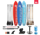 TwoBareFeet Entradia 12'0'' x 6'' Inflatable Paddleboard- Package Choice