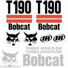 ANY MODEL Bobcat T190 DECALS Stickers Skid Steer loader New Repro decal Kit