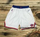 New York Knicks White Stitched Sewn S M L XL XXL Basketball Shorts NWT