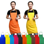 Women Apron Housewife Hotel Kitchen Chef Butcher Restaurant Cooking Baking Dress
