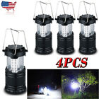 30LED Camping Lantern Portable Collapsible Light Outdoor Hiking Workout Lights _