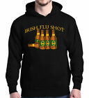 Irish Flu Shot Hoodie Funny Drinking Saint Patricks Day Beer Shamrock Sweatshirt