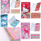 SANRIO KITTY MELODY JEWELPET TWINS STAR DORAEMON 12 COLOR PENCIL METAL BOX 763
