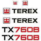 Terex 760 Decals Stickers Terex 760B Repro Decal Kit