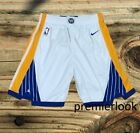Golden States Warriors White Stitched Sewn Basketball Shorts New with Tags
