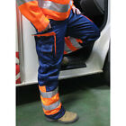 Hymac  Hi Visibility Heavy Duty Contrast Recovery Hi Vis Safety Trousers, HYM466