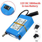 Mini Portable DC-168 12V Rechargeable Li-ion Battery Pack for CCTV Camera NEW