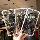 Ultra-Thin Pattern Case Shockproof Phone Cover iPhone X 6s 7 8 Plus For Apple