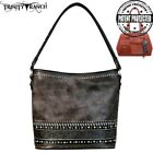 Trinity Ranch Tooled Leather Collection Concealed Carry Hobo (TR61G-121)