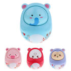 Baby Toys Kid Gift Tumbler Doll Rattles Cute Animal Push And Pull Sound toy