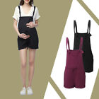 Plus Summer Maternity Pregnant Women Romper Jumpsuits Lace-up Dungaree Playsuits