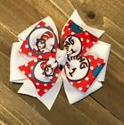 Seuss Pinwheel Hair Bow
