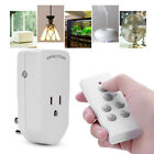 Wireless Remote Control Outlet Power Light Bulb Switch Smart Socket EU/US Plug