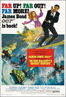 On Her Majesty's Secret Service Movie Poster Print - 1963 - Action - 1 Sheet Art $26.69 CAD on eBay