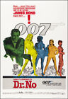 Dr. No Movie Poster Print James Bond 007 - 1962 - Action - 1 Sheet Artwork £15.18 GBP on eBay