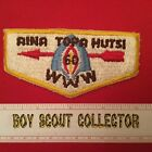 Boy Scout OA Aina Topa Hutsi Lodge 60 S2 Order Of The Arrow Pocket Flap Patch