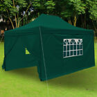 4.5m x 3m Waterproof Garden Gazebo Marquee Heavy Duty Shelter Canopy Party Tents