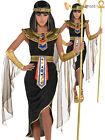 Adult Cleopatra Costume Egyptian Queen Greek Goddess Fancy Dress Ladies Womens