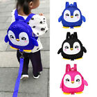 Cartoon Baby Toddler Kids Penguin Safety Harness Strap Bag Backpack With Reins