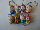 Hello Kitty character danglers, keychains for bags, rucksacks Party Bag fillers