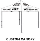 10x10 Pop Up Canopy Tent Custom Printed Canopy Graphics Logo Printing Artwork