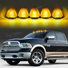 (5) Amber Top Cab Marker Lights White LED Assembly for 99-16 Ford F250 F350 F450