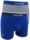 Lacoste Mens 2 Pack 158201 Cotton Stretch Boxer Shorts in Blue