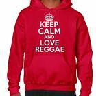 Keep Calm And Love Reggae Hoodie