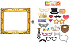 Party Photobooth Props + Inflatable Photo Frame Selfie Booth Celebration