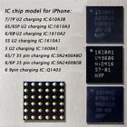 10pcs USB Charger IC for Iphone 5s 6 6plus 7 7plus *No Charging* Solution Chip