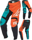 Fly Racing F-16 MX Pants Orange Teal Green YOUTH Sizes