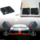 HOT 2X Wireless Car LED Door Projector Ghost Shadow Light Fit For Pontiac