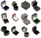 Luxury Leatherette Ring Boxes Colour Choice High Quality Engagement Ring boxes