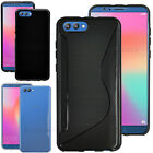 For Huawei Honor View 10 / V10 Gel Silicone Rubber Case Skin Phone Cover +Stylus