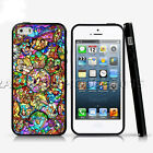 Stained Glass Princess Phone Case For iPhone X iPod Samsung Galaxy Cover