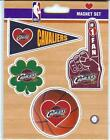 4 Pack NBA Die Cut HEART MAGNET SET #1 FINGER SHAMROCK PENNANT BASKETBALL U PICK on eBay