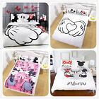 Disney Kids Bedding Set Mickey Minnie Duvet Cover Set Pillow Cases 3PCS US/UK/AU image