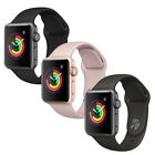 Apple On the qui vive for Series 3 42mm (Aluminum Case, Black or Fog Sport Band)