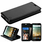 For ZTE Overture 3 Z851M Wallet MyJacket Executive Pouch Case Slots Pockets