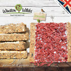 Wild Bird Suet Cakes, [5 PACK ] Energy Cakes, Treat. Handmade by Winston Wilds.