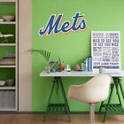 New York Mets MLB Team Logo Color Printed Decal Sticker Car Window Wall on Ebay
