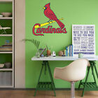 St. Louis Cardinals MLB Team Logo Color Printed Decal Sticker Car Window Wall on Ebay