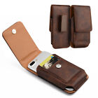 Leather Belt Clip Luxmo Pouch Holster Phone Holder For Samsung Galaxy Phones