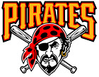 Pittsburgh Pirates MLB Team Logo Color Printed Decal Sticker Car Window Wall on Ebay