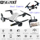 2.4Ghz 4CH 6-Axis 360° Hold WiFi 2.0MP Optical Flow Dual Camera Quadcopter Drone