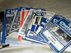 CHELSEA HOME AND AWAY PROGRAMMES FRIENDLY TESTIMONIALS ANGLO SCOTTISH 1963-88