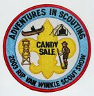 Rip Van Winkle Council (NY) 2003 Scout Show Candy Sale Pocket Patch  BSA