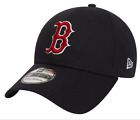 NEW ERA 39THIRTY FITTED CAP. TEAM ESSENTIAL BOSTON RED SOX