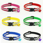 1Pc Pet Cat Collar Breakaway Safety Reflective Kitty Dog Buckle Collar With Bell